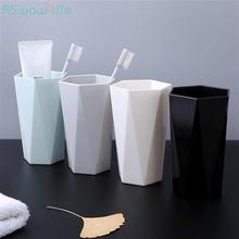 2 шт домашняя чашка для мытья пара зубных щеток пластиковая