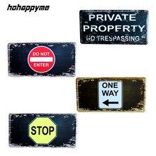 señal stop RETRO VINTAGE