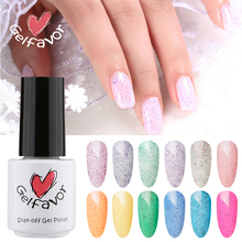 Gelfavor Sweet Candy Color Series Gel Polish 7ml Uv Nail Anese Style