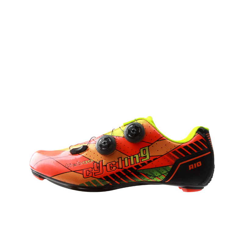 TIEBAO 6-1680 NEW Carbon Fiber Road Bike Shoes Professional Outdoor Road Bicycle Shoes Women Men Road Carbon Cycling Shoes tiebao professional road shoes rotating screw steel wire with fast cycling shoes road bike shoes tb16 b1259