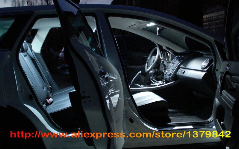 Free Shipping 24pcs Lot Car Styling Xenon White Canbus Package Kit Led Interior Lights For Mercedes Benz S Cl W221 In Signal Lamp From Automobiles