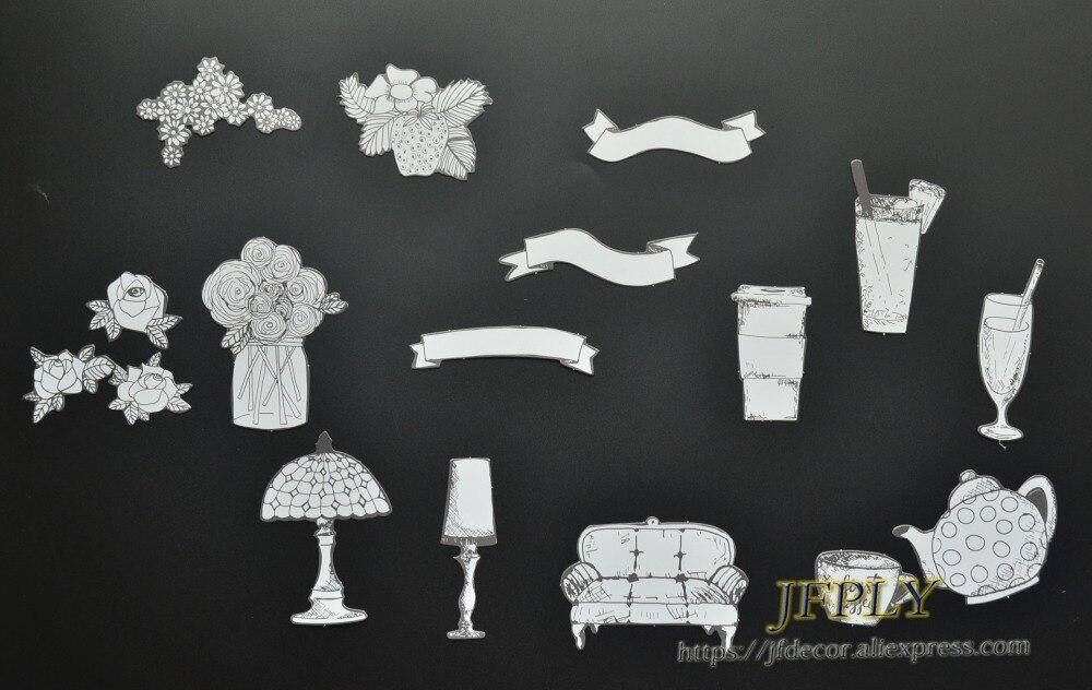 Kunden Zuerst Clever Diy Fotoalbum/scrapbooking Dekorative Accessoires Vintage Stanzen Papier Liefert bitte Farbe Sie Selbst