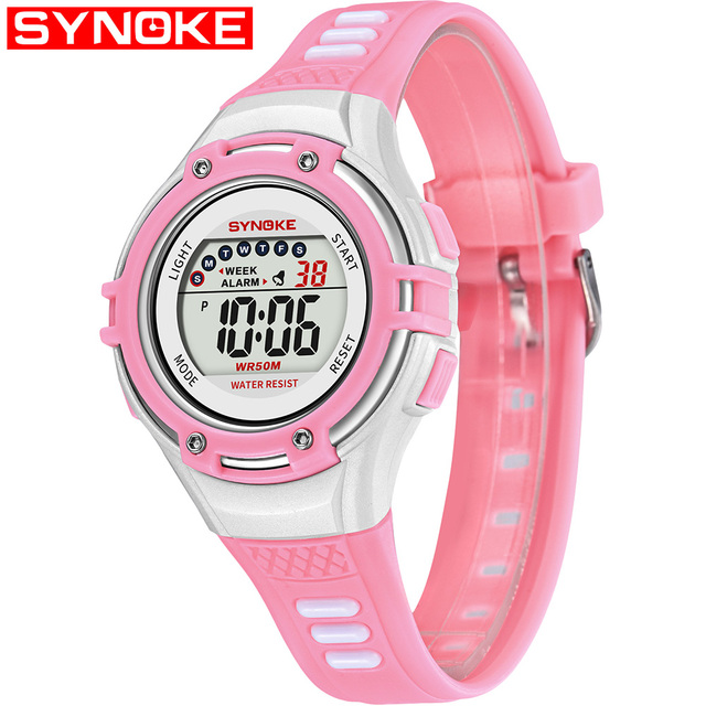High Quality Children Sports Watches Fashion LED Digital Watch Boys Girls Kids 5