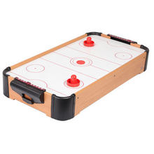 Air Hockey Tabletop For Kids Mini Air Hockey Table Air Flow Ice Hockey Table   27inch With Color Lable For DIY Design