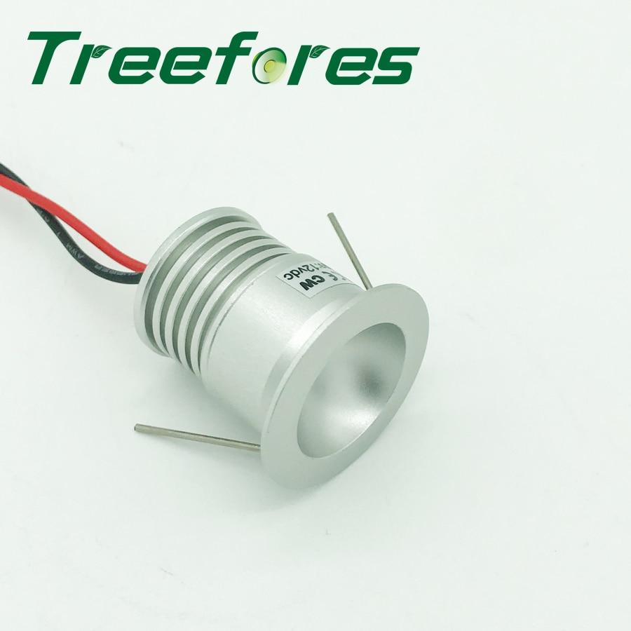 1W IP65 Epister Mini LED Bulb Spotlight 100Lm 15mm 25mm Spot Lighting Outdoor Garden Gazebo Lighting Lamp Stair Light