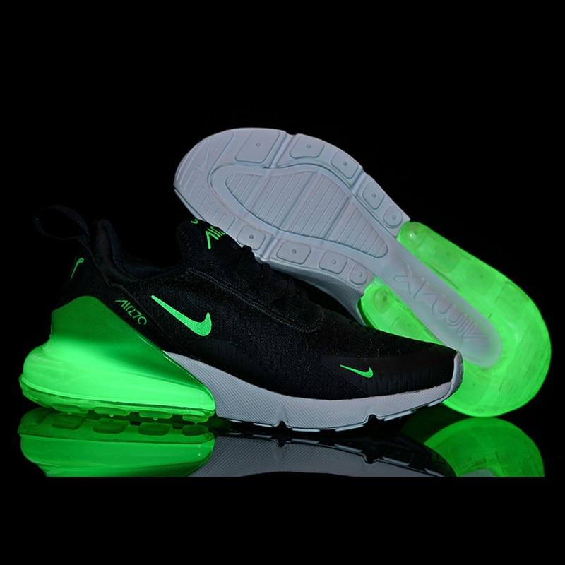 Nike Air Max 270 D'origine led chaussures lumineuses Respirant Sport baskets d'extérieur chaussures lumineuses Nike Pour Les Femmes Nike 270 chaussures pour femmes