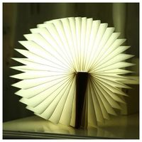 BIFI Creative Reading Lamp Folding LED Reading Light LED USB Rechargeable Decorative Four Color Light