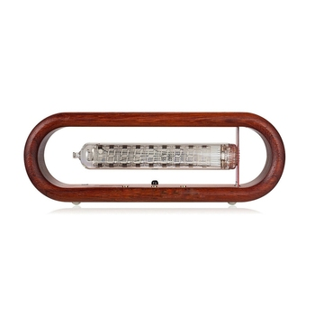 Vintage Iv-18 Vfd Nixie Tubo Reloj Alarma Tomate Timing Wifi Control Remoto