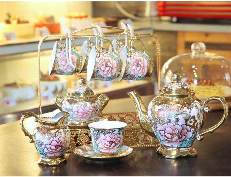 britânica conjunto de chá cerâmica caneca de