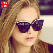 Leonlion 2019 Square Big Frame Sunglasses Women Cat Eye Glasses For Classic Wild Photochromic Mirror Small Fac Unisex