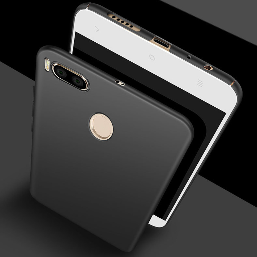 Redtree Hard Pc Slim Case For Xiaomi Mi A1 Mi5x Luxury Full Cover Cafele 5x Mia1 Tempered Glass Clear Hd Smartphone Celular Back Capa Coque In Fitted Cases From