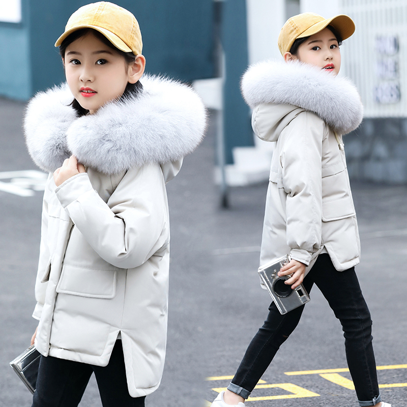 New 2018 winter down jacket parka for girls boys coats 80% down jackets children's clothing for snow wear kids outerwear & coats winter men jacket new brand high quality candy color warmth mens jackets and coats thick parka men outwear xxxl