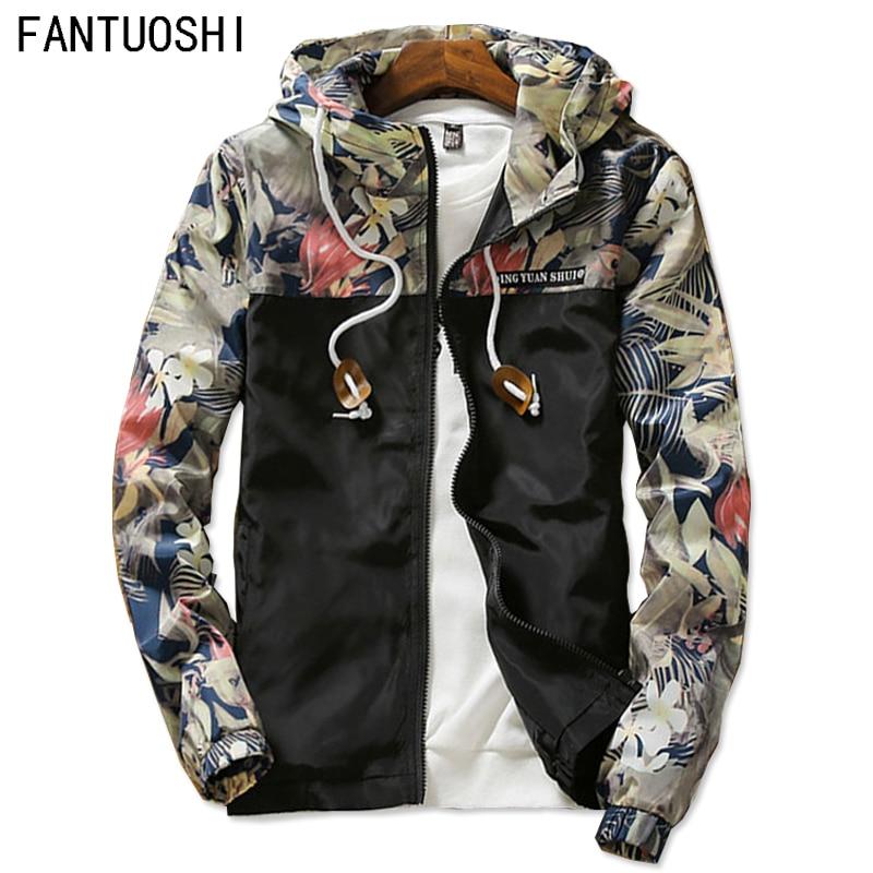 새로운 2018 남자 패션 부티크 슬림 운동 후드 자켓 코트 / 얇은 프리미엄 남성 레저 자켓 코트 / 남성 캐주얼 자켓