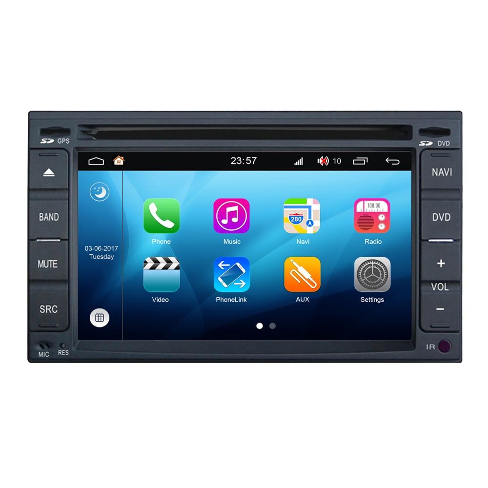 Android 8.0 autoradio DVD GPS Navigation pour Nissan pour Dodge Trazo ensoleillé Juke Pathfinder Terrano Dualis Sylphy Bluebird Sentra