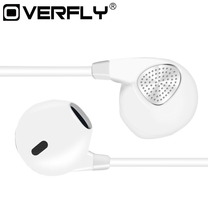 Overfly 3.5mm Wire Headphones In-ear Headset with Microphone Stereo Earpods for mobile phone iPhone Xiaomi IM500 Earphone philips shg7210 professional game headphones with microphone wire control headphone for xiaomi mp3 official verification