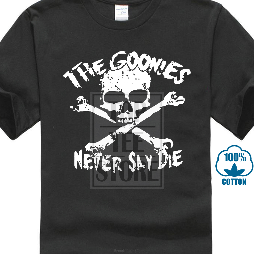 1a45eaef6 Detail Feedback Questions about Printed T Shirt Pure Cotton Men New The  Goonies Never Say Die Logo Short Sleeve Men'S T Shirt on Aliexpress.com |  alibaba ...