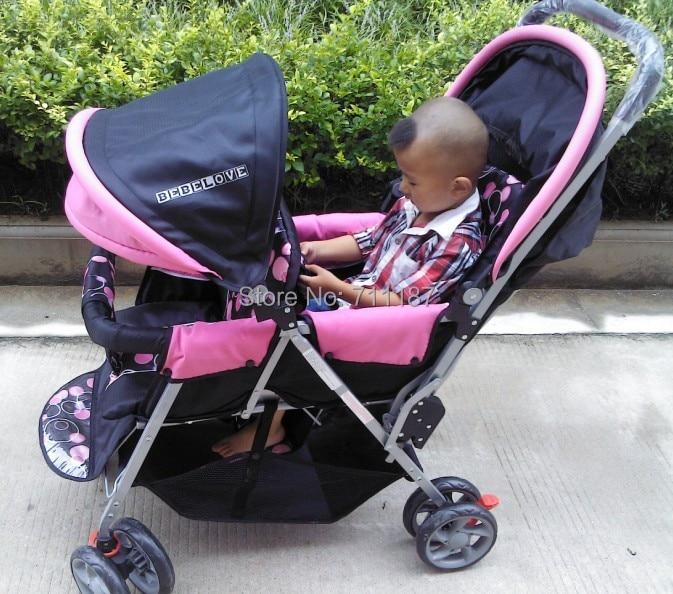 Twins Baby Stroller Double Folding Twin Stroller Baby