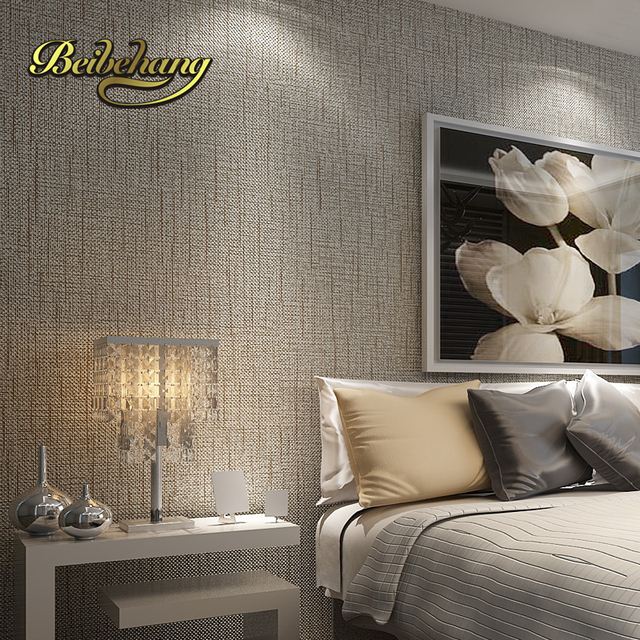 Beibehang Non Woven Roll American Straw Texture Wallpaper For Living Room  Bedroom Backdrop Papel Parede Part 62