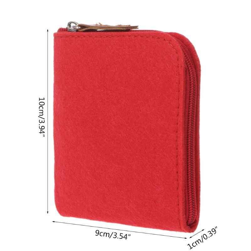 Feminino meninas bonito sentiu moda moeda bolsa carteira bolsa bolsa bolsa chave titular do cartão