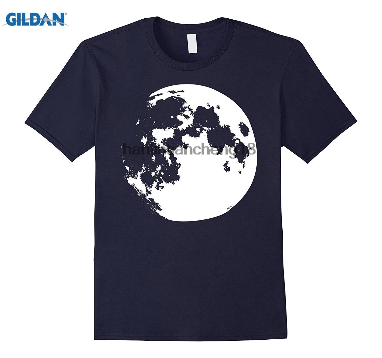 GILDAN 2018 Full Moon Lunar Tee Shirt Lunar Eclipse Witch Vampire Grunge Short-Sleeve Casual O-Neck T Shirts