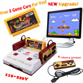 D99 Game New Upgrade Subor D99 Video Game Console Original Family TV  games player free 400 in 1 game card + 1x Backup Gamepad