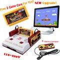 D99 Juego Nueva Actualización Subor D99 Consola de Videojuegos Original TV Familia jugador de juegos de envío 400 en 1 tarjeta de juego + 1x Gamepad de Copia de seguridad