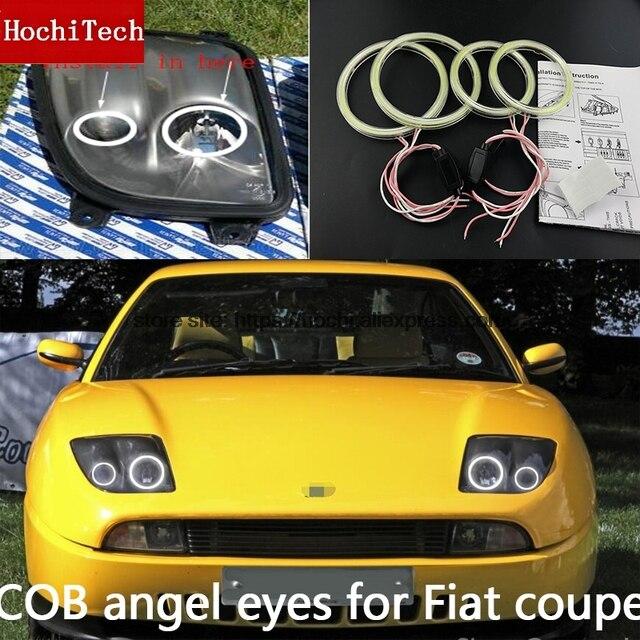 高品質 COB Led ライト · Cob Led エンジェル · アイズリングのための無料フィアットクーペ 1993 1994 1995 1996 1997 1998 1999 2000