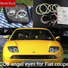 באיכות גבוהה COB Led אור לבן Halo Cob Led מלאך עיניים טבעת שגיאה משלוח עבור פיאט קופה 1993 1994 1995 1996 1997 1998 1999 2000