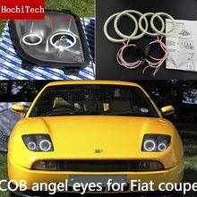 High Quality COB Led Light White Halo Cob Led Angel Eyes Ring Error Free For Fiat Coupe 1993 1994 1995 1996 1997 1998 1999 2000