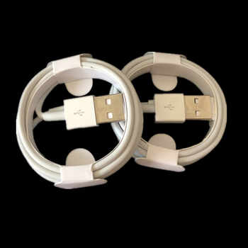 300PCS Compatible IOS11 charger mobile phone white 1M 3FT cable charger for iphone X 8 7 6 5 free shipping