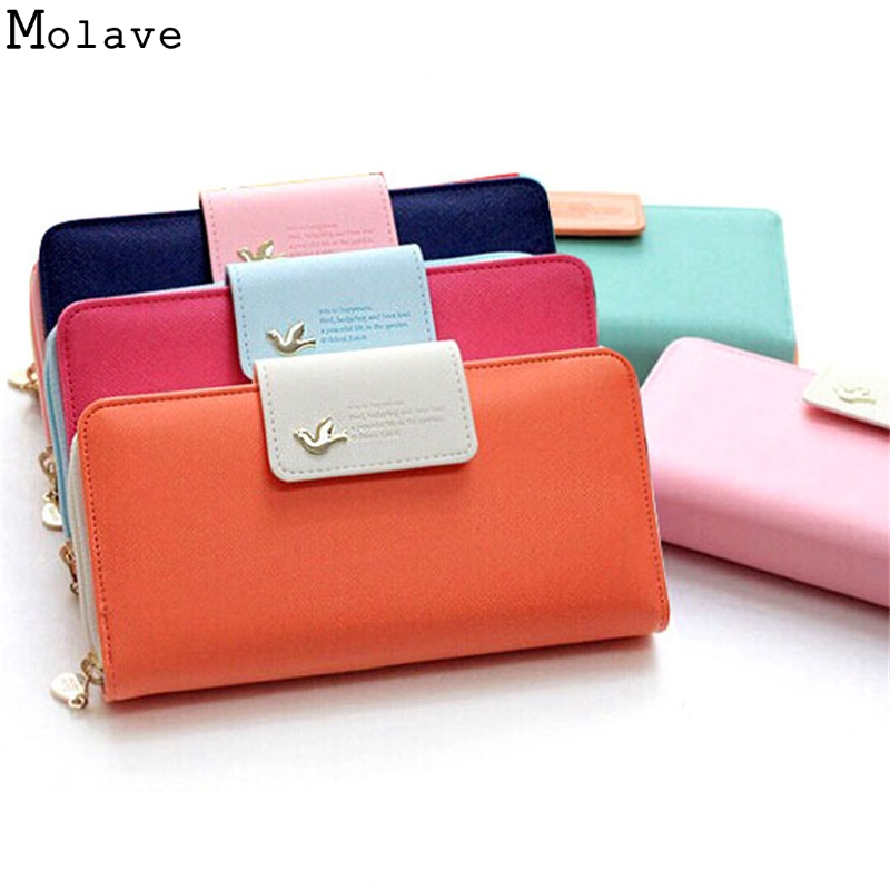 Women Purse Fashion Female Wallets High-quality PU Leather Wallet Women Long Purse Brand Capacity Clutch Card Holder Pouch D38M3  new fashion female wallets smooth leather wallet women candy color long change purse brand clutch card holder pouch carteras