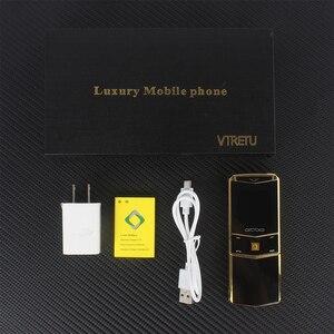 Image 5 - יוקרה טלפון מתכת גוף Cectdigi V05 הקטן ביותר מיני כפולה ה sim Filp שקופיות נייד טלפון Bluetooth קסם קול עברית רוסית טלפון