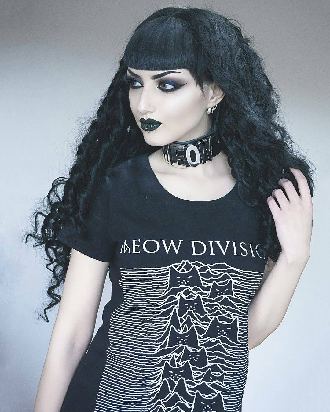 Fashionshow-JF Summer Meow Division Unknown Pleasure Women T-Shirt Cotton High Quality Short Sleeve O-Neck Tops Tee