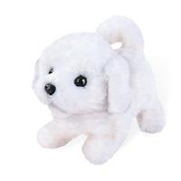 Электрическая мягкая игрушка собака вперед к спине кукла