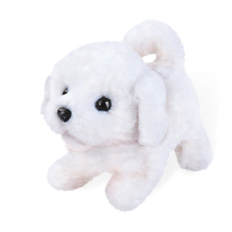 Electric Stuffed Toy Dog Forwards Towards The Back Doll