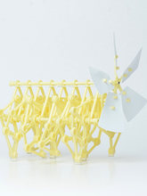 Mini Strandbeest DIY Robot Windmill Wind Power Beast Walk DIY Assembly Models Robot Windmolen Science Puzzle Kids Children Toys(China)