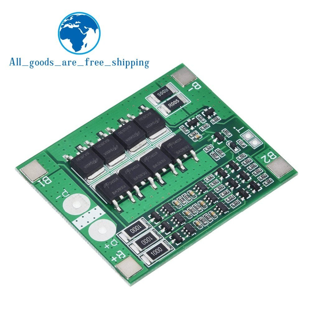 Image 5 - TZT 3S 25A Li ion 18650 BMS PCM Battery Protection Board BMS PCM With Balance For li ion Lipo Battery Cell Pack Module DIY-in Integrated Circuits from Electronic Components & Supplies