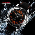 2016 HOT Brand Fashion Casual Sport Watches Men Quartz Wristwatches Silicone Waterproof Watch Men Clock Reloj Relogio Masculino