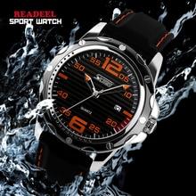 2016 CALIENTE Marca de Moda Casual Relojes Deportivos Hombres Reloj Impermeable de Los Hombres Reloj de Pulsera de Silicona Reloj de Cuarzo Relogio masculino