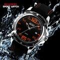 2016 HOT Marca de Moda Casual Esporte Relógios Homens relógios de Pulso de Quartzo Relógio de Silicone À Prova D' Água Homens Relógio Reloj Relogio masculino