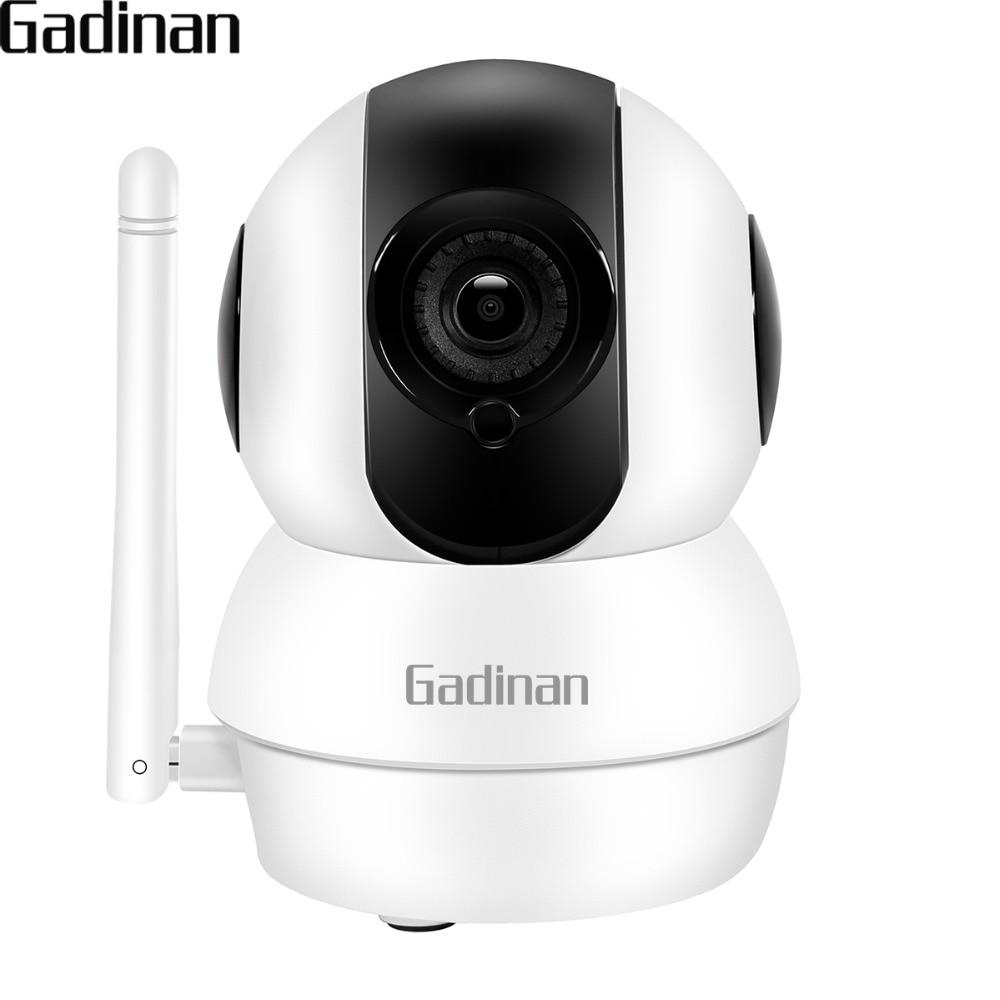 GADINAN 1080P 720P Mini Pan/Tilt WIFI IP Camera 6 IR Leds Night Vision Two-Way Audio Motion Detection ICsee APP Baby Monitor