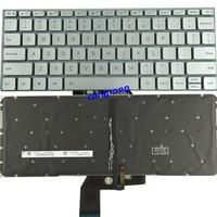 노트북 미국 영어 키보드 xiao mi mi air 13.3 인치 9z. nd7bw. 001 mk10000005761 490.09u07.0d01 노트북 실버 백라이트