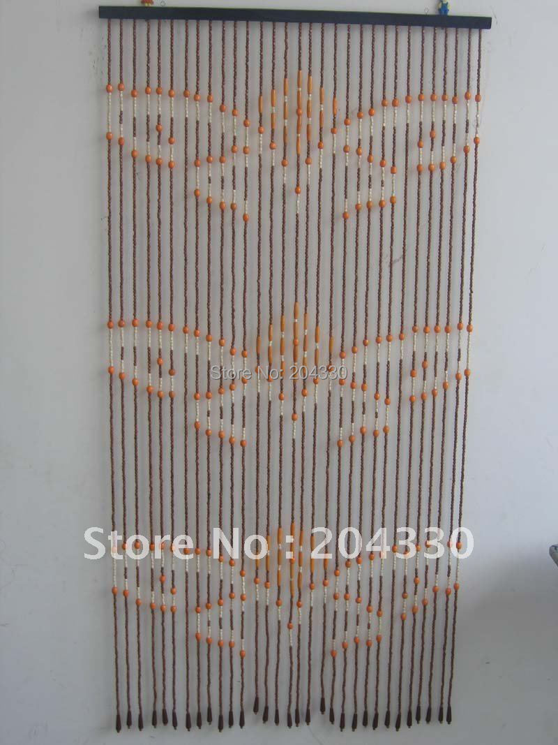 Bead door curtains for girls - Aliexpress Com Buy Wooden Beaded Door Curtains From Reliable Bead Set Suppliers On Jiangxi Double Win