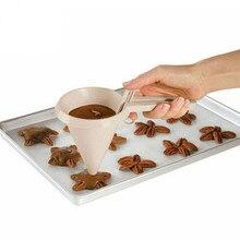 Новые инструменты для выпечки регулируемые Воронка для шоколада для инструменты для украшения выпечки, торта Кухня аксессуары Прямая