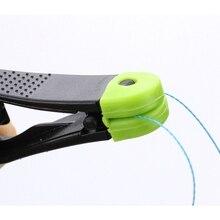 4 шт. рыболовный спусковой зажим с веревкой ABS нержавеющая сталь быстрый сплиттер оснастка штабелер инструмент Вертлюги рыболовные инструменты