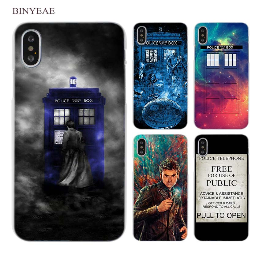 Cellphones & Telecommunications Half-wrapped Case Straightforward Binyeae Tardis Box Doctor Who Dw Clear Cell Phone Hard Case Cover For Iphone X 6 6s 7 8 Plus 5 5s Se 5c 4 4s