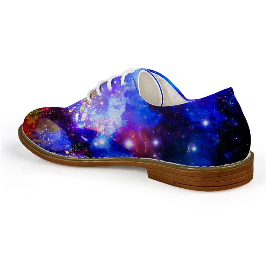 Galaxy 3d C4312ce Pour Dentelle ca5185ce Oxford up 2018 Noisydesigns Cuir cc4105ce c4314ce Affiches Décontractée Star Chaussures Richelieus Hommes Space Mode En Appartements UqqZRP0Yw