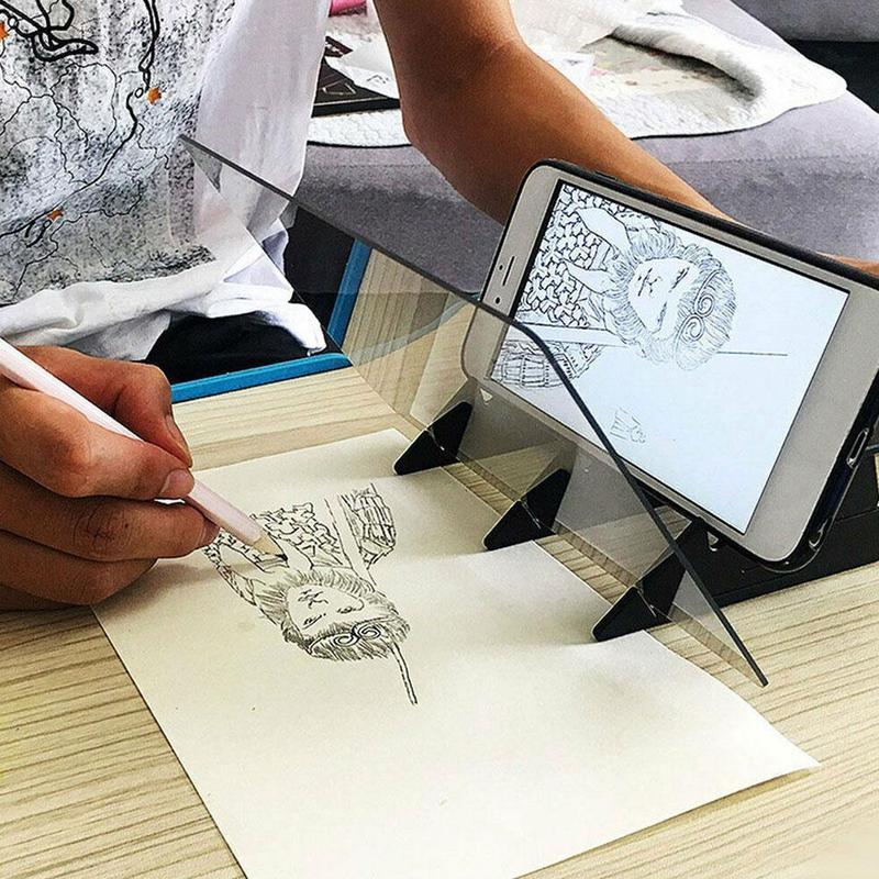 1 шт., А4, светодиодная художественная трафаретная доска, 3 шт., 4B, ластик, светильник, коврик для рисования, доска для рисования, для детей, художников, планшет, искусство, ремесло