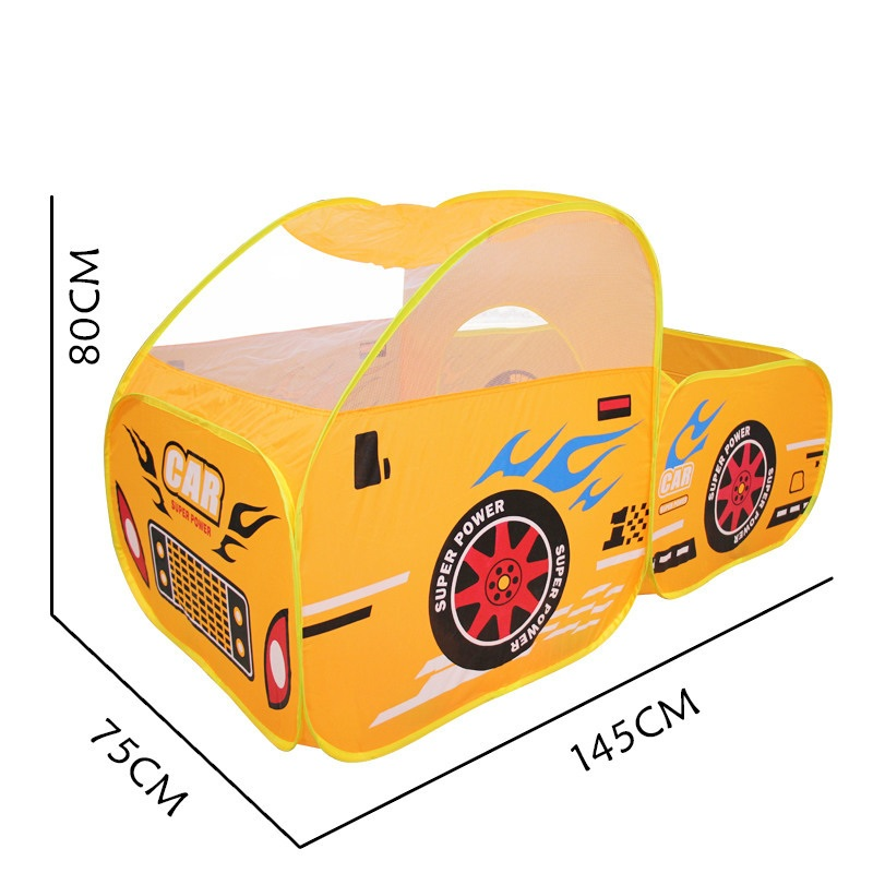 YARD Cute Large Baby Toys Kids Tent Car Model Fun Game Folding Portable Tent Playing House for Children Indoor Outdoor Tents