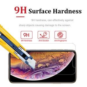 Image 5 - 2 PCS screen protector glas auf für iphone xs max schutz glas ich telefon xsmax gehärtetem ein iphone airphone aphone cam temperli 9 h
